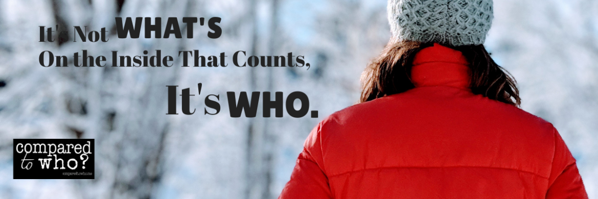 """Why We Must Stop Saying, """"It's What's on the Inside that Counts"""""""