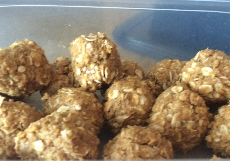 Healthy Summer Kid Snack Recipe: Peanut Butter Balls