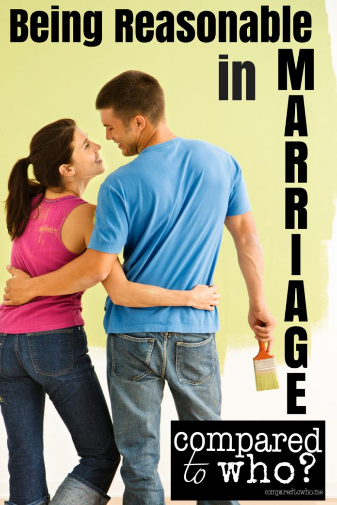 Being Reasonable in Marriage