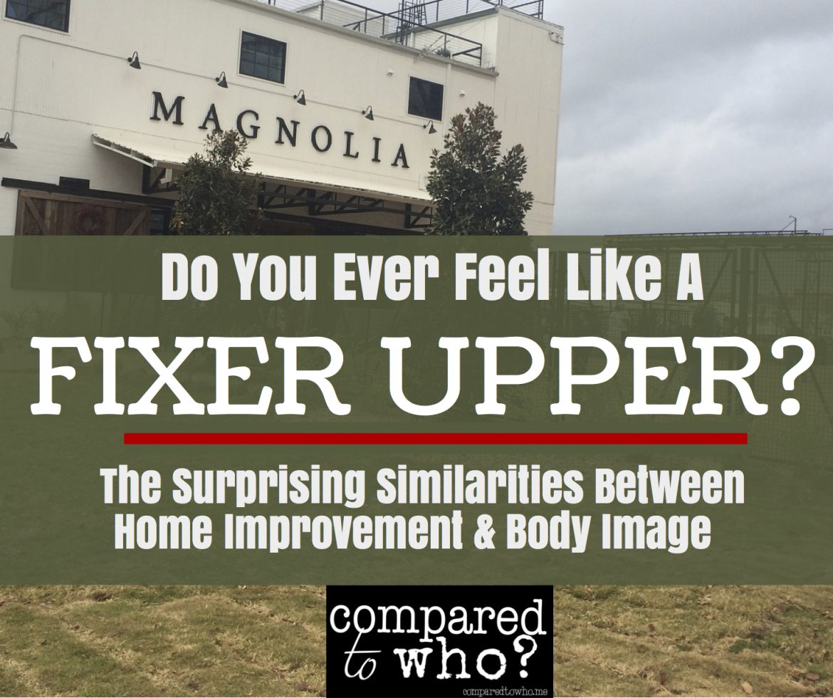 Do YOU ever feel like a Fixer Upper longer for a home makeover?