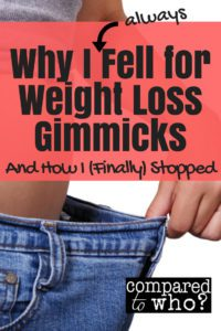 Do you fall for weight loss gimmicks as easily as I do? Great advice and Christian help here!