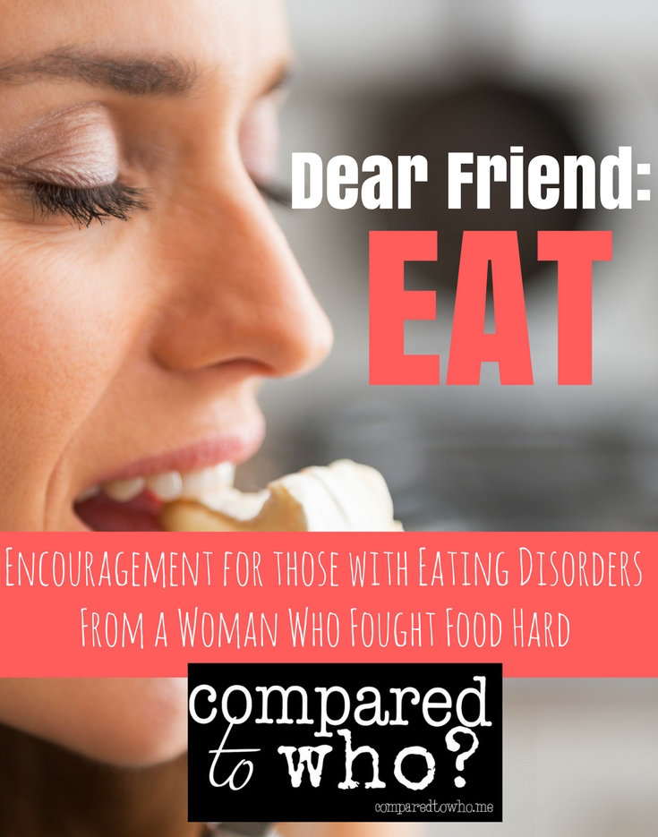 Encouragement for women with eating disorders