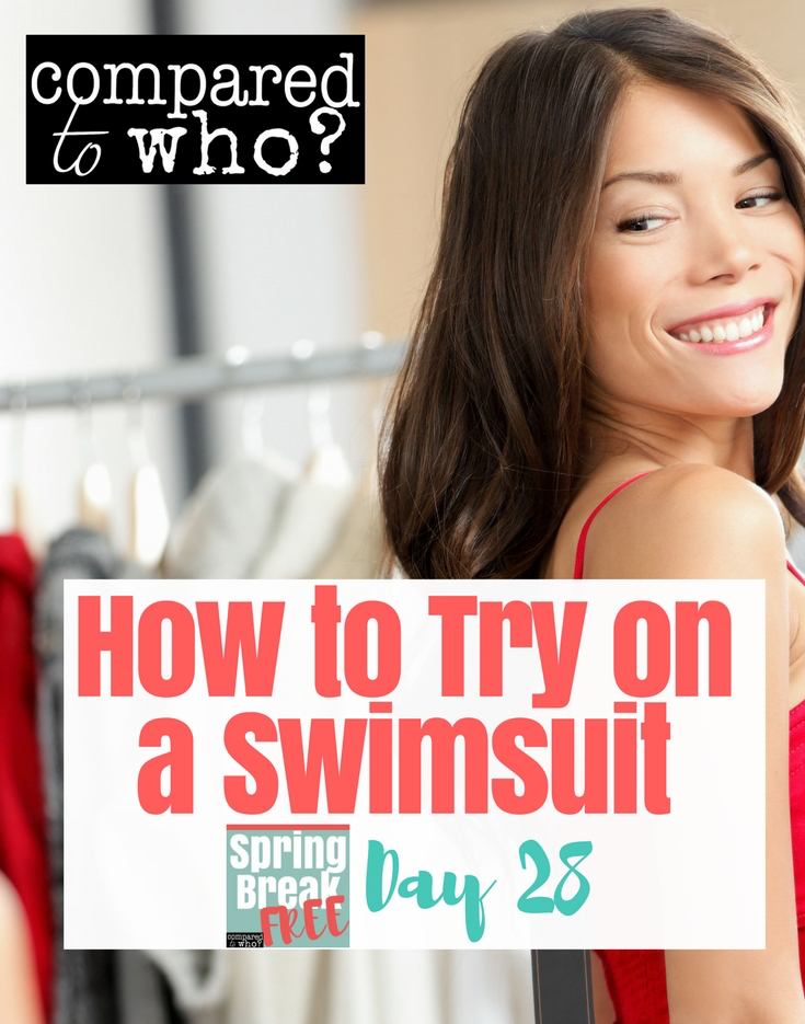How to try on a swimsuit video