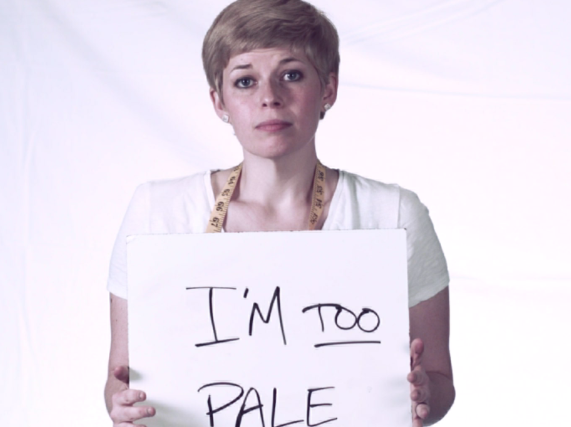 I'm Too Pale: Encouragement from one woman's story of feeling too pale