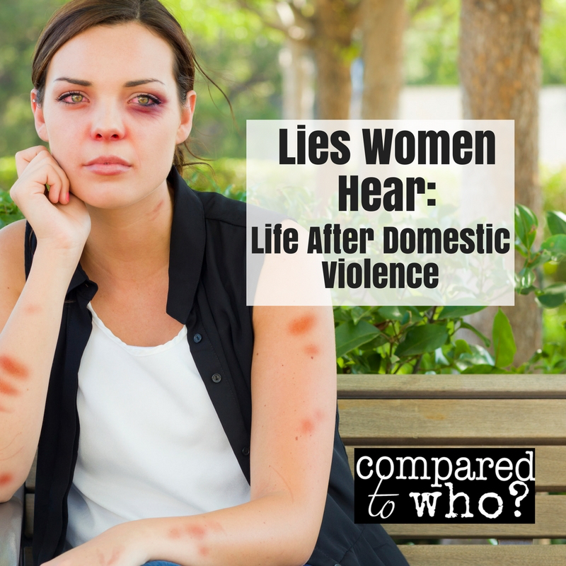 Lies women hear during domestic violence
