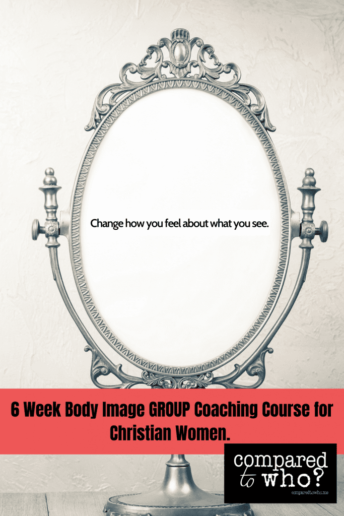Christian body image course gospel-centered view of body image issues