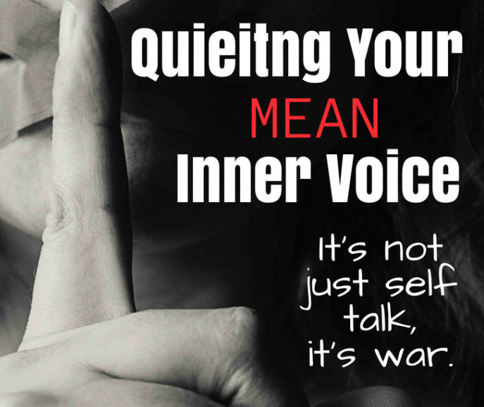 Pin How to quiet your inner voice. It's not just self talk, it's war