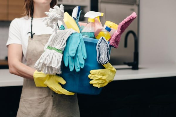 Does the thought of company coming turn you into the crazy cleaning lady?