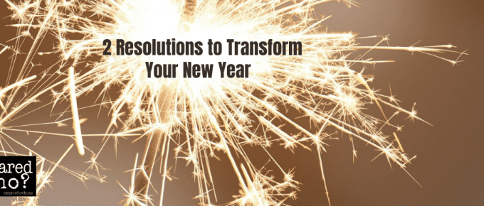 2 resolutions you must make this year