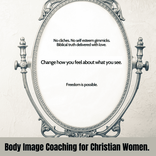 Christian gospel-centered body image coach virtual