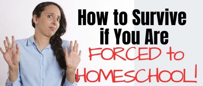 forced to homeschool and concerned about homeschooling due to school closures