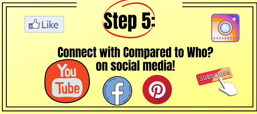 connect with Compared to who on social media