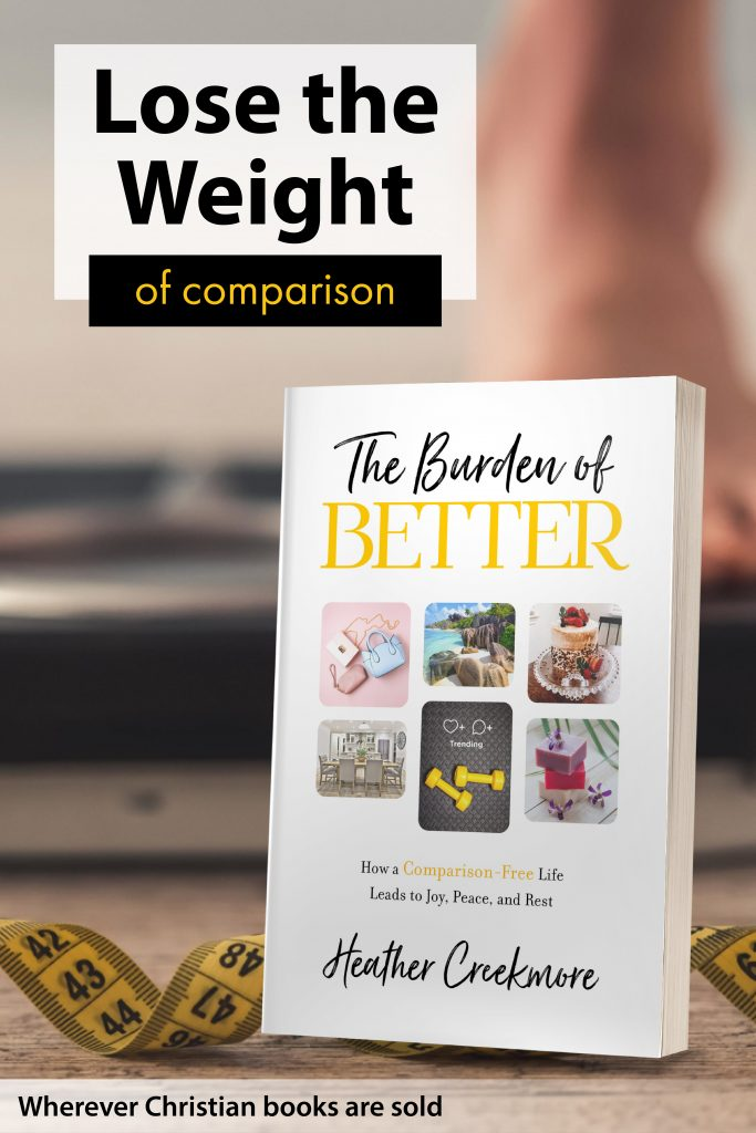 best christian book on body image and comparison