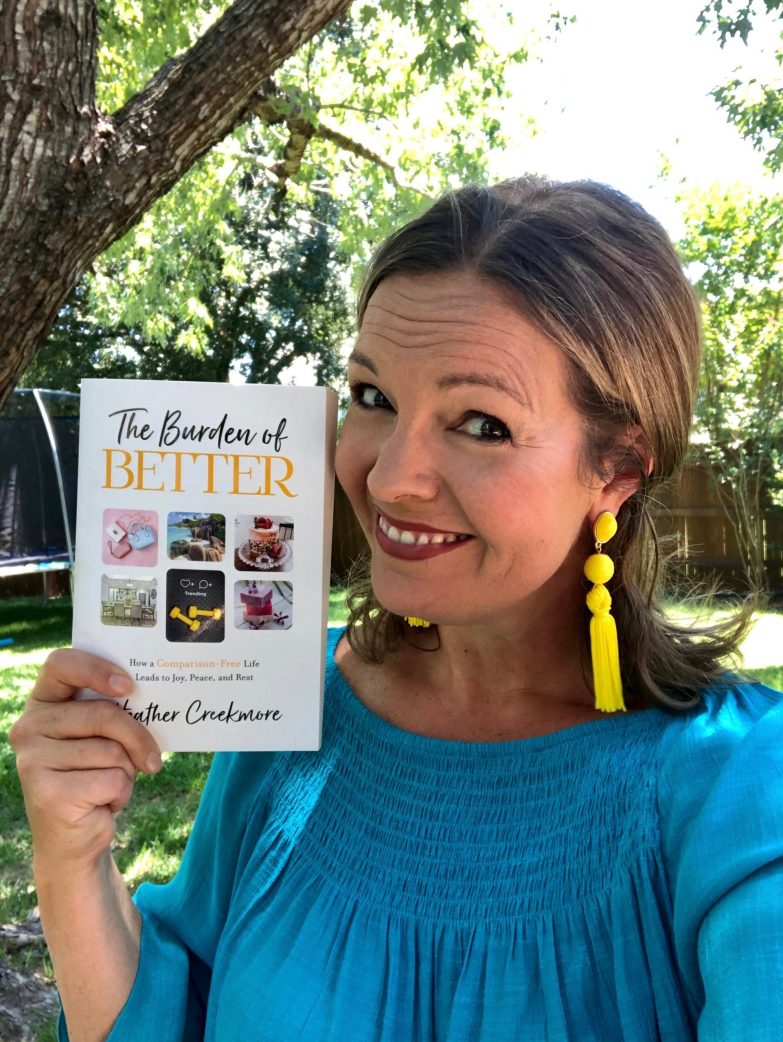 Heather Creekmore best Christian book on body image and comparison