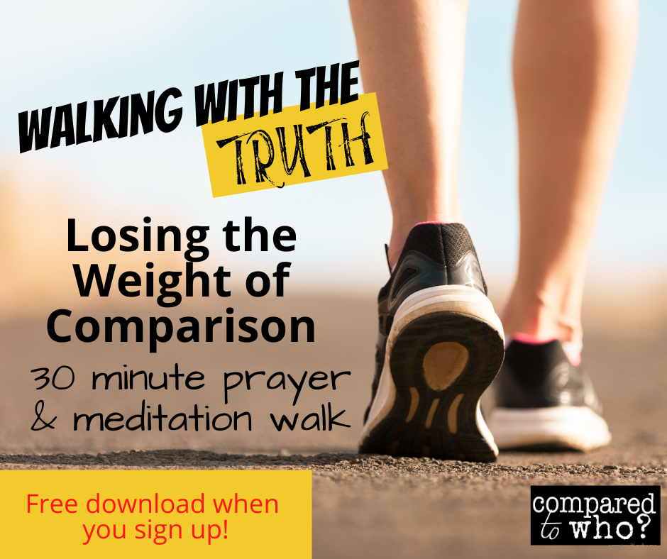 christian walking workout to help with comparison
