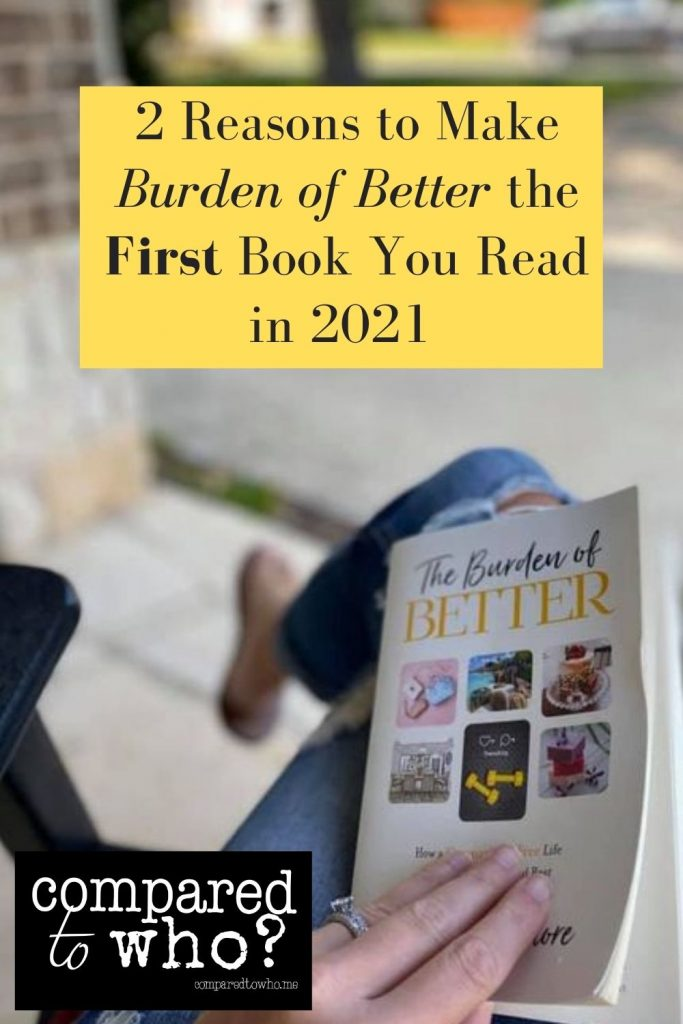 Read this amazing christian book on comparison and change your 2021
