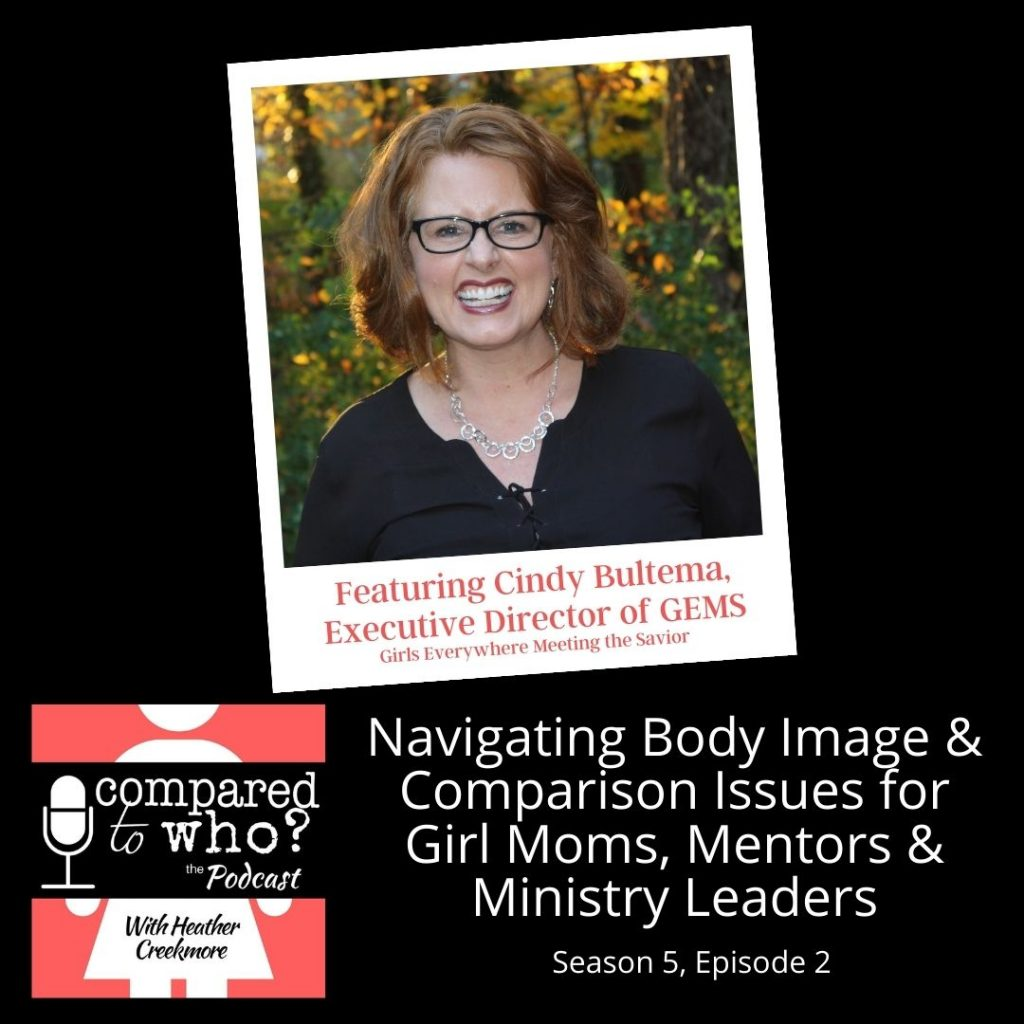Cindy Bultema of Gems on girls and body image