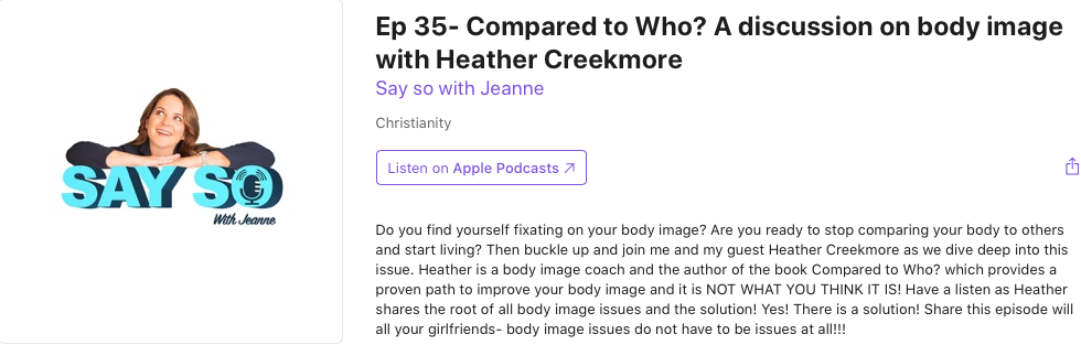 podcast with Jeanne Terry