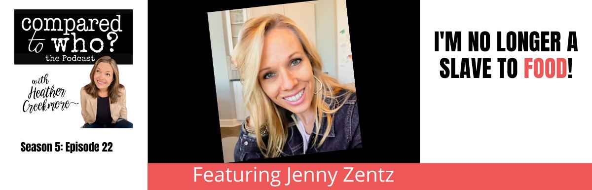 No longer slave to food Jenny zenith