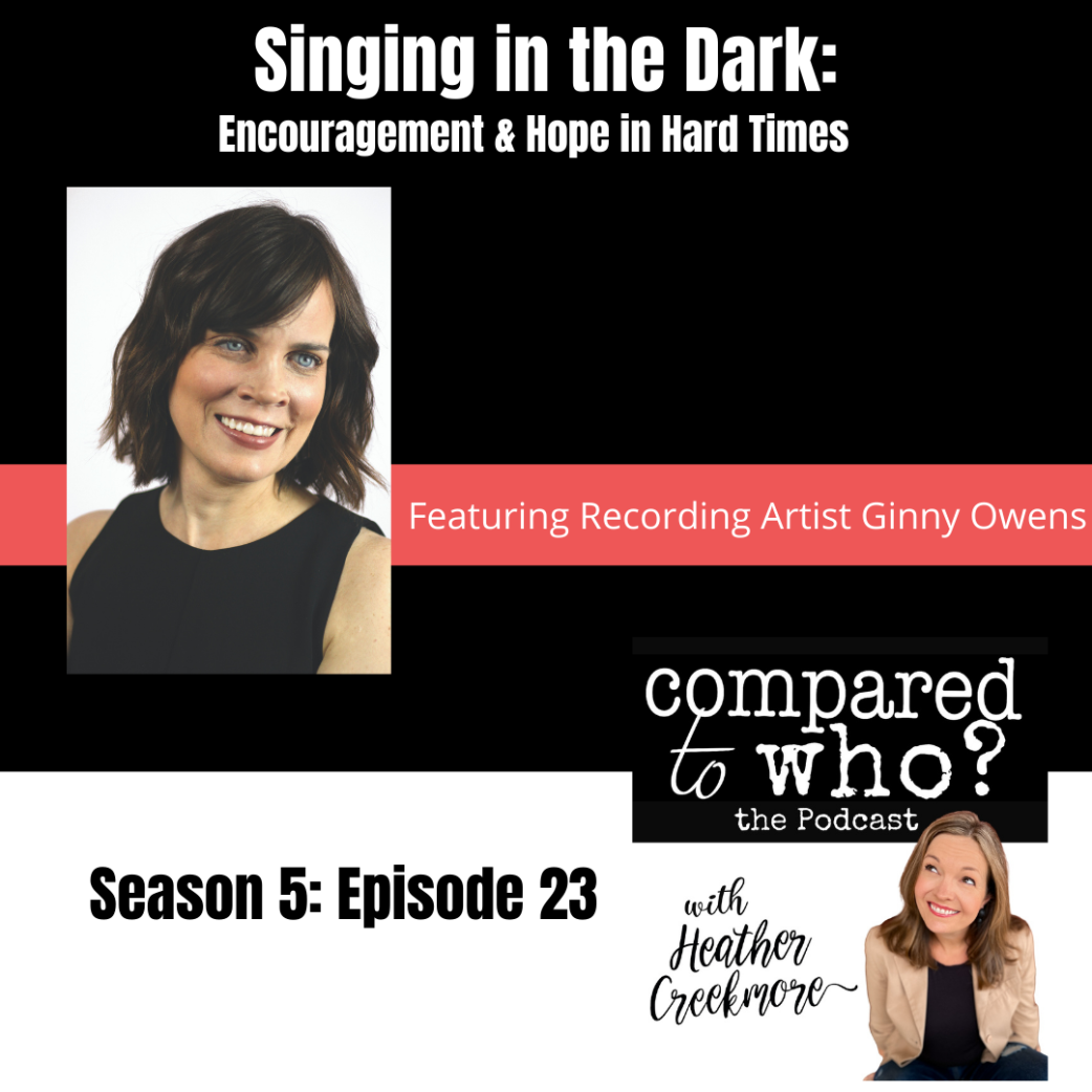 Podcast: Ginny Owens, Blindness, Body Image, and Singing in the Dark