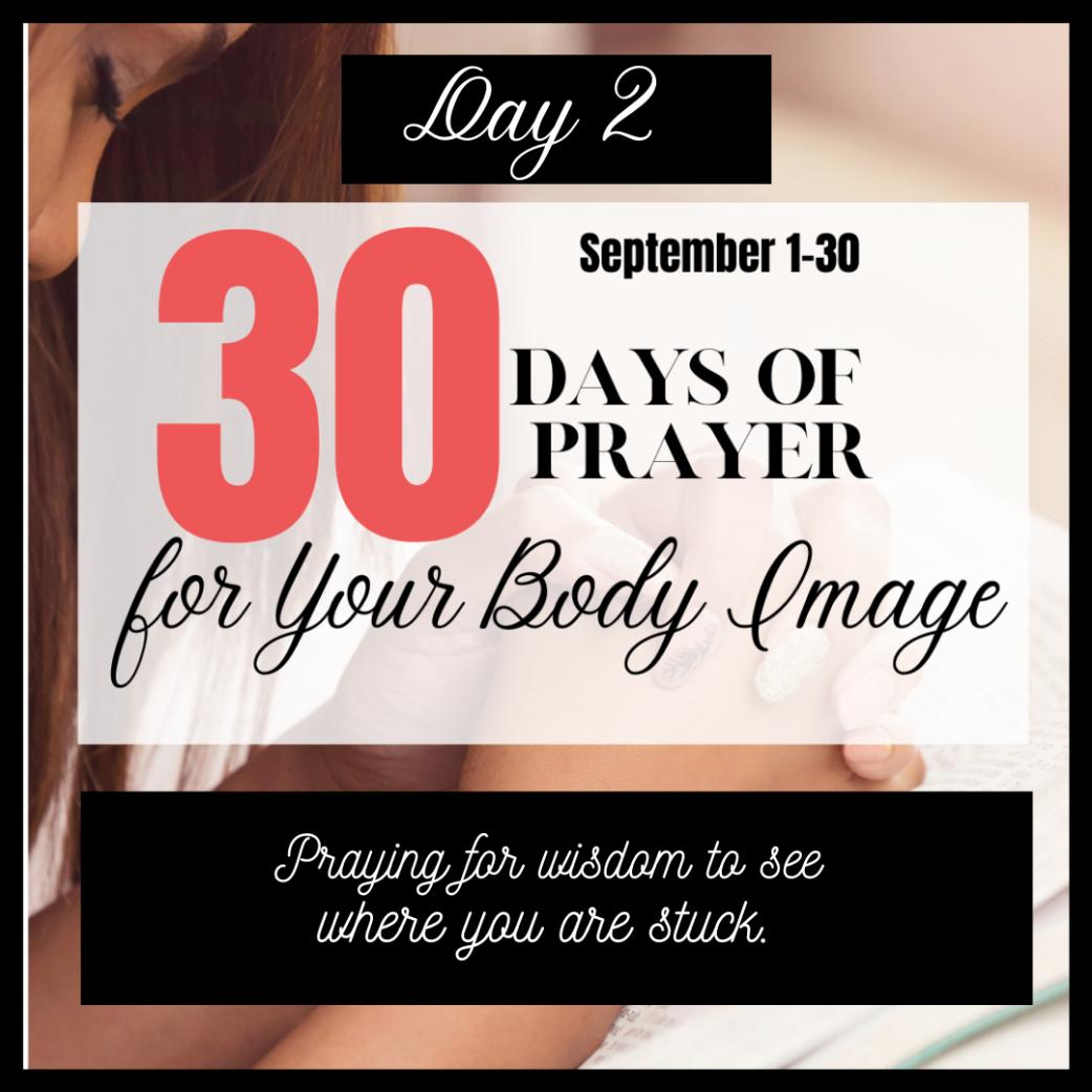 30 Days to Pray for Body Image: Day 2- Wisdom
