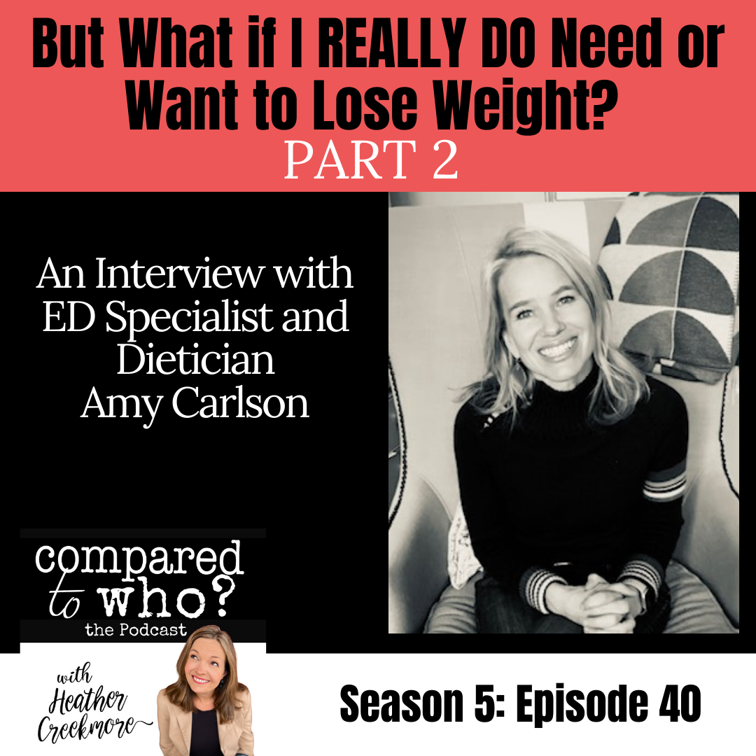 Amy Carlson, RD Shares What to Do if You Need to Lose Weight 2